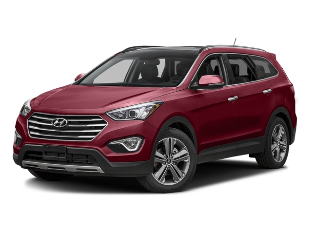Regal Red Pearl 2016 Hyundai Santa Fe Pictures Santa Fe Utility 4D Limited AWD photos front view