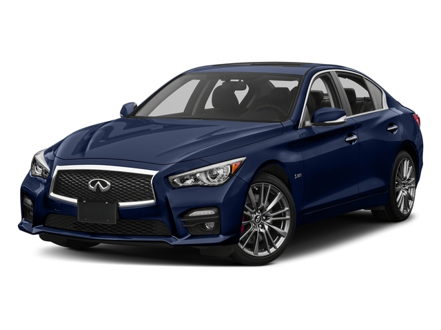 Iridium Blue 2016 INFINITI Q50 Pictures Q50 Sedan 4D 3.0T Red Sport AWD V6 Turbo photos front view