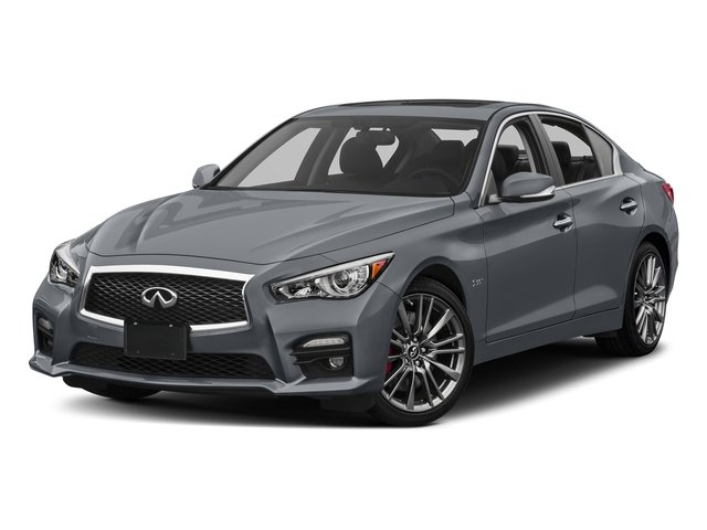 Hagane Blue 2016 INFINITI Q50 Pictures Q50 Sedan 4D 3.0T Red Sport AWD V6 Turbo photos front view