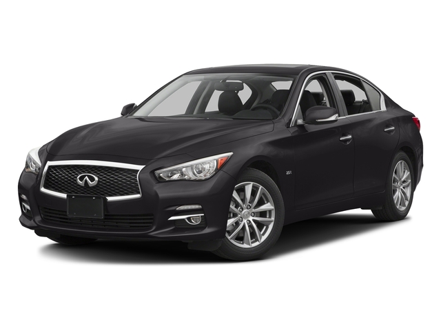 Malbec Black 2016 INFINITI Q50 Pictures Q50 Sedan 4D 2.0T Premium I4 Turbo photos front view