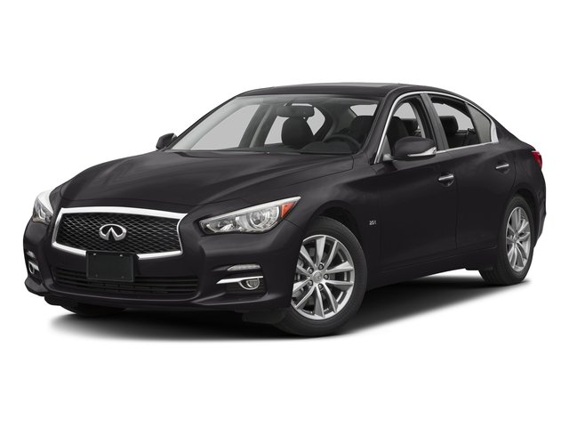 Malbec Black 2016 INFINITI Q50 Pictures Q50 Sedan 4D 2.0T AWD I4 Turbo photos front view