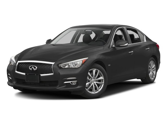 Graphite Shadow 2016 INFINITI Q50 Pictures Q50 Sedan 4D 2.0T Premium I4 Turbo photos front view