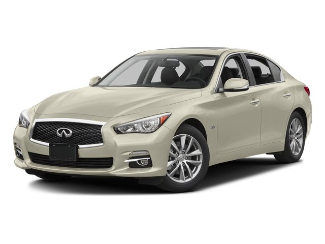Majestic White 2016 INFINITI Q50 Pictures Q50 Sedan 4D 2.0T AWD I4 Turbo photos front view