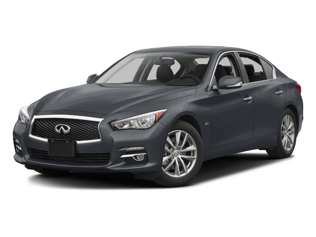 Hagane Blue 2016 INFINITI Q50 Pictures Q50 Sedan 4D 2.0T AWD I4 Turbo photos front view