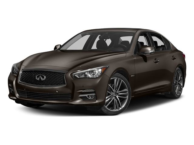 Chestnut Bronze 2016 INFINITI Q50 Pictures Q50 Sedan 4D AWD V6 Hybrid photos front view