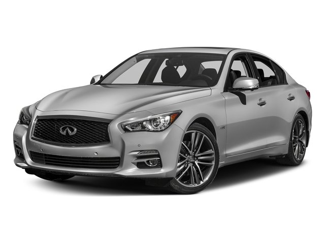 Liquid Platinum 2016 INFINITI Q50 Pictures Q50 Sedan 4D AWD V6 Hybrid photos front view