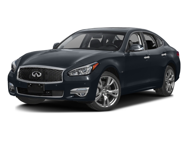 Hermosa Blue 2016 INFINITI Q70 Pictures Q70 Sedan 4D V6 photos front view