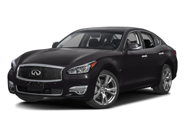 Malbec Black 2016 INFINITI Q70 Pictures Q70 Sedan 4D AWD V6 photos front view