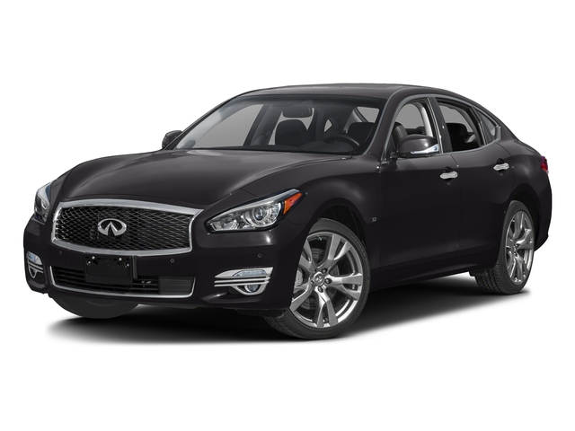 Malbec Black 2016 INFINITI Q70 Pictures Q70 Sedan 4D V6 photos front view