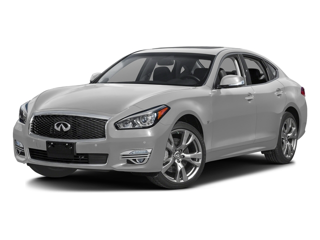 Liquid Platinum 2016 INFINITI Q70 Pictures Q70 Sedan 4D V8 photos front view