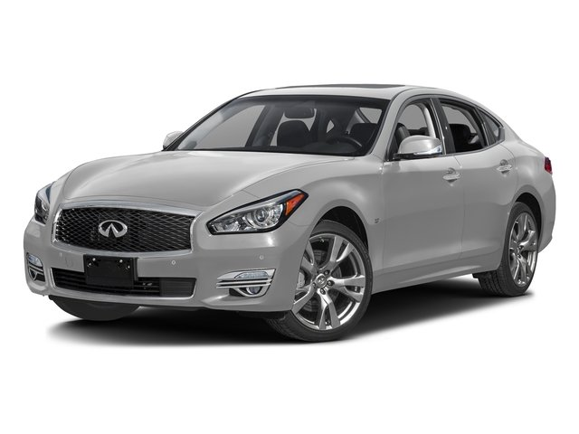 Liquid Platinum 2016 INFINITI Q70 Pictures Q70 Sedan 4D V6 photos front view