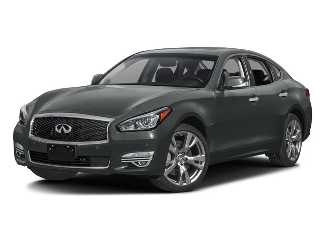 Graphite Shadow 2016 INFINITI Q70 Pictures Q70 Sedan 4D AWD V6 photos front view