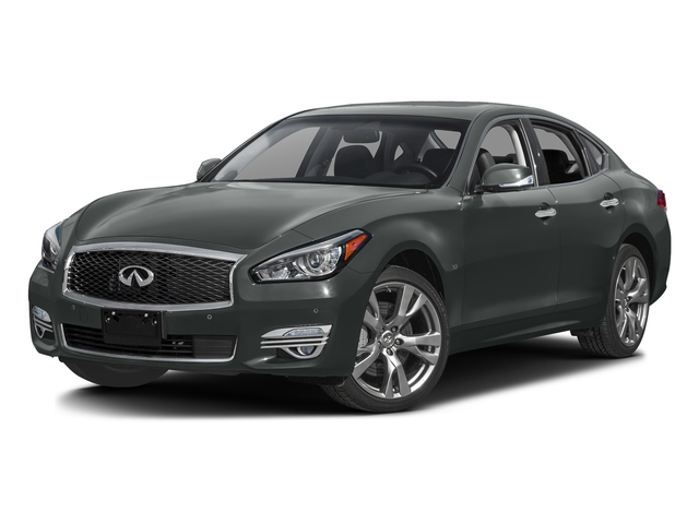 Graphite Shadow 2016 INFINITI Q70 Pictures Q70 Sedan 4D V8 photos front view