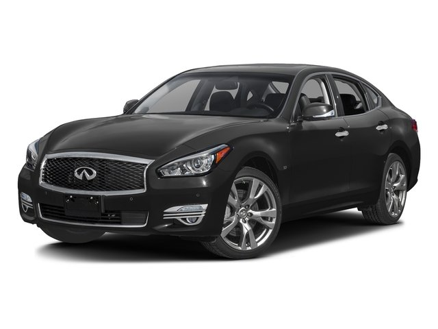 Black Obsidian 2016 INFINITI Q70 Pictures Q70 Sedan 4D AWD V6 photos front view