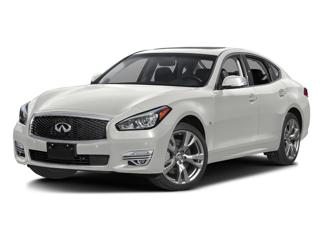 Majestic White 2016 INFINITI Q70 Pictures Q70 Sedan 4D AWD V6 photos front view