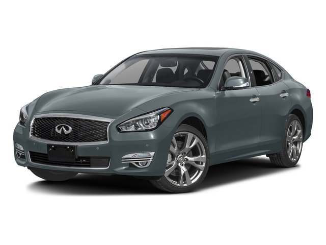 Hagane Blue 2016 INFINITI Q70 Pictures Q70 Sedan 4D V8 photos front view