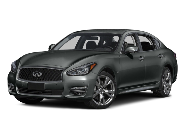 Graphite Shadow 2016 INFINITI Q70L Pictures Q70L Sedan 4D LWB V6 photos front view
