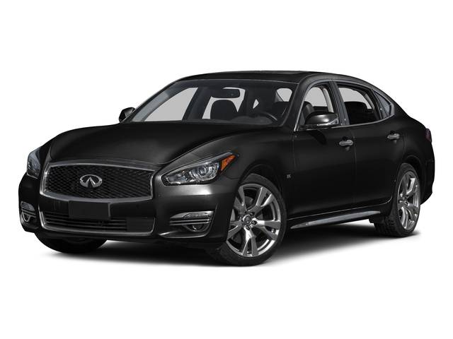 Black Obsidian 2016 INFINITI Q70L Pictures Q70L Sedan 4D LWB V6 photos front view