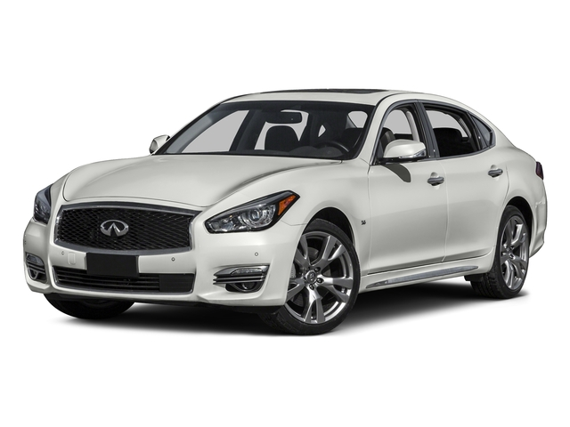 Majestic White 2016 INFINITI Q70L Pictures Q70L Sedan 4D LWB V6 photos front view