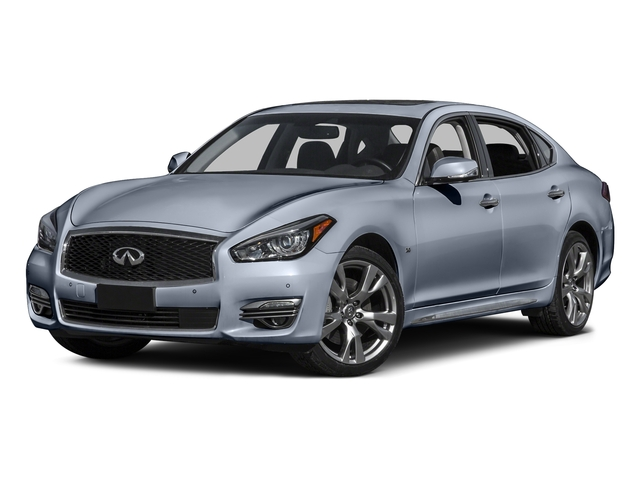 Hagane Blue 2016 INFINITI Q70L Pictures Q70L Sedan 4D LWB V6 photos front view