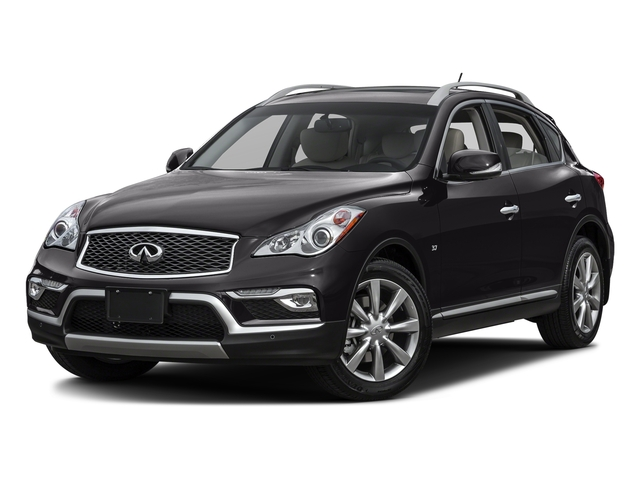 Malbec Black 2016 INFINITI QX50 Pictures QX50 Utility 4D 2WD V6 photos front view