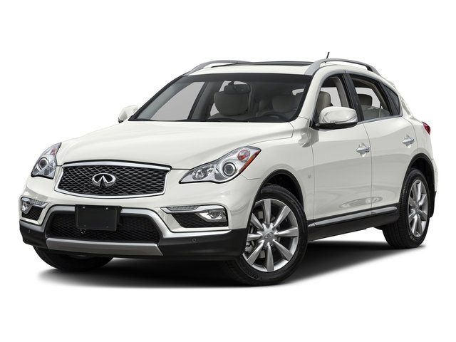 Majestic White 2016 INFINITI QX50 Pictures QX50 Utility 4D 2WD V6 photos front view