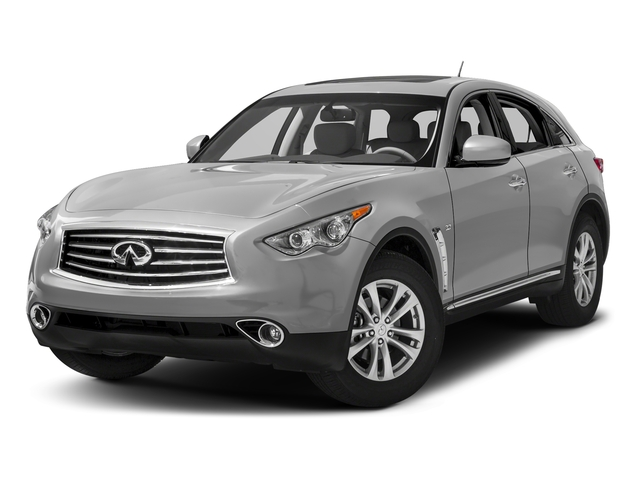 Liquid Platinum 2016 INFINITI QX70 Pictures QX70 Utility 4D 2WD V6 photos front view