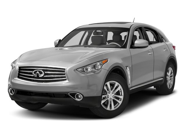 Liquid Platinum 2016 INFINITI QX70 Pictures QX70 Utility 4D AWD V6 photos front view