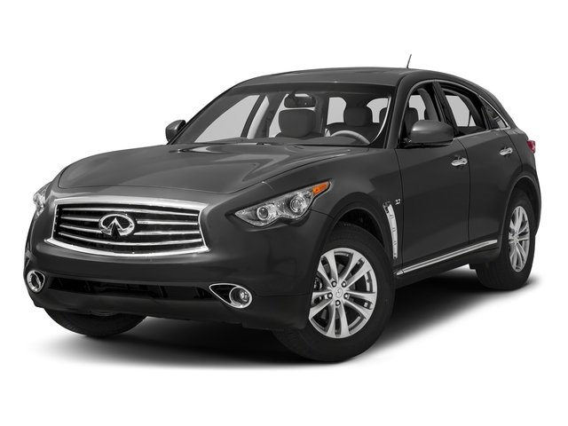 Graphite Shadow 2016 INFINITI QX70 Pictures QX70 Utility 4D 2WD V6 photos front view