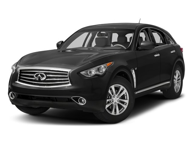 Black Obsidian 2016 INFINITI QX70 Pictures QX70 Utility 4D AWD V6 photos front view