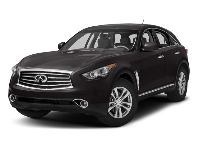 Midnight Mocha 2016 INFINITI QX70 Pictures QX70 Utility 4D 2WD V6 photos front view