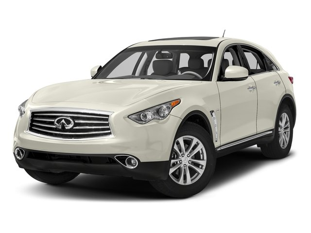 Moonlight White 2016 INFINITI QX70 Pictures QX70 Utility 4D AWD V6 photos front view