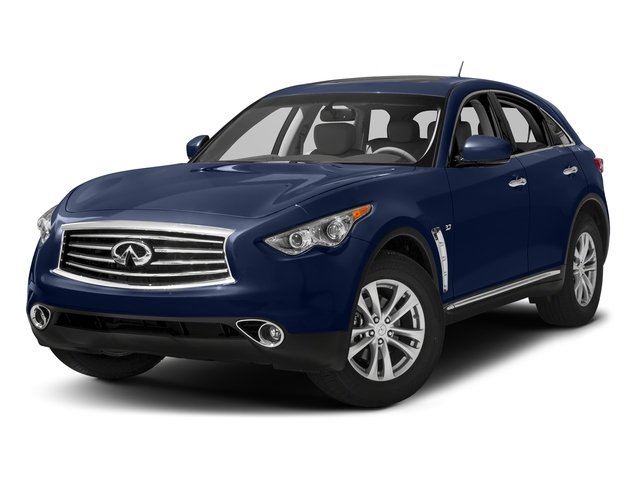 Iridium Blue 2016 INFINITI QX70 Pictures QX70 Utility 4D AWD V6 photos front view
