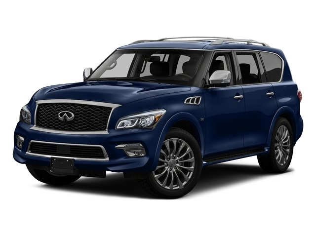 Hermosa Blue 2016 INFINITI QX80 Pictures QX80 Utility 4D 2WD V8 photos front view