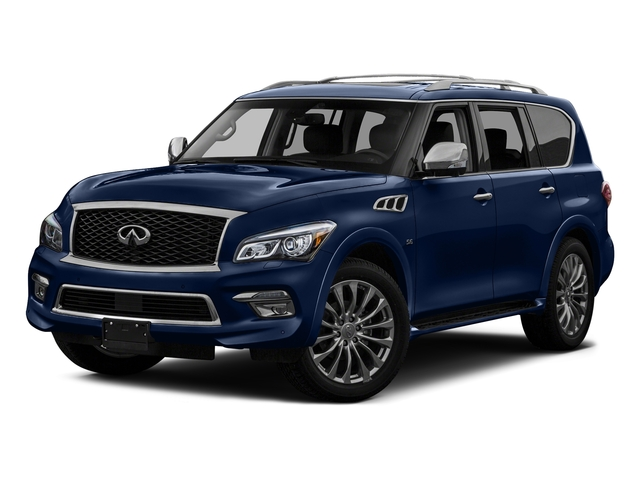 Hermosa Blue 2016 INFINITI QX80 Pictures QX80 Utility 4D Limited AWD V8 photos front view