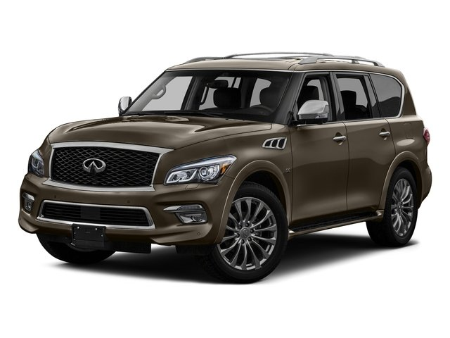Mocha Almond 2016 INFINITI QX80 Pictures QX80 Utility 4D Limited AWD V8 photos front view