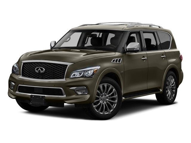 Smoky Quartz 2016 INFINITI QX80 Pictures QX80 Utility 4D AWD V8 photos front view
