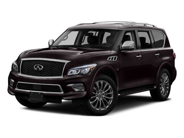 Dark Currant 2016 INFINITI QX80 Pictures QX80 Utility 4D AWD V8 photos front view