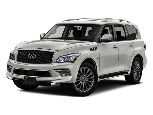 Majestic White 2016 INFINITI QX80 Pictures QX80 Utility 4D Limited AWD V8 photos front view