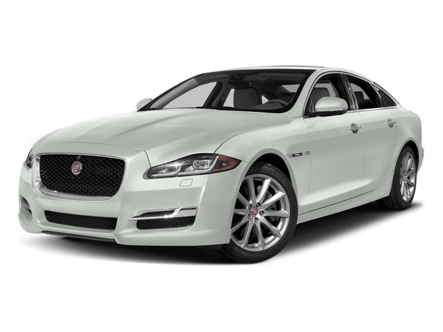 Polaris White 2016 Jaguar XJ Pictures XJ Sedan 4D V8 Supercharged photos front view