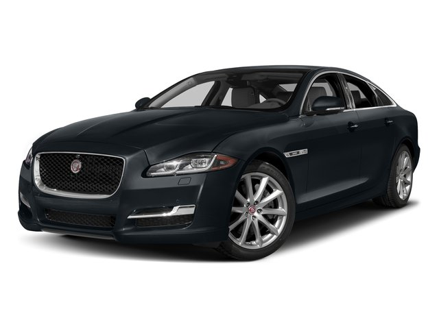 Celestial Black 2016 Jaguar XJ Pictures XJ Sedan 4D V8 Supercharged photos front view