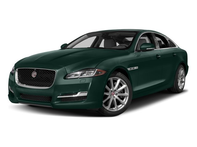 British Racing Green Metallic 2016 Jaguar XJ Pictures XJ Sedan 4D V8 Supercharged photos front view