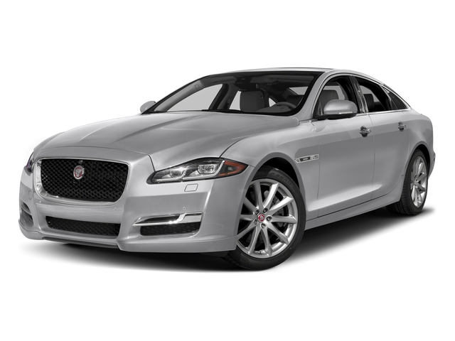Glacier White Metallic 2016 Jaguar XJ Pictures XJ Sedan 4D V8 Supercharged photos front view