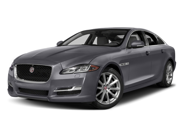 Tempest Gray 2016 Jaguar XJ Pictures XJ Sedan 4D V8 Supercharged photos front view