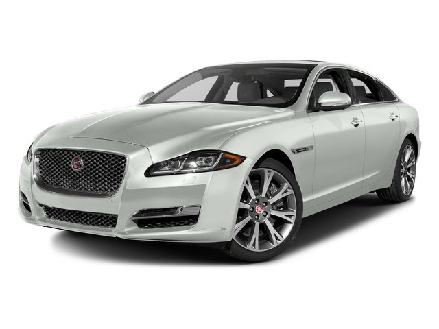 Polaris White 2016 Jaguar XJ Pictures XJ Sedan 4D L Portfolio AWD V6 Sprchrd photos front view