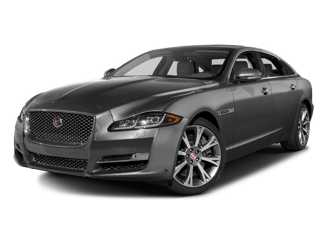 Ammonite Gray Metallic 2016 Jaguar XJ Pictures XJ Sedan 4D L Portfolio AWD V6 Sprchrd photos front view