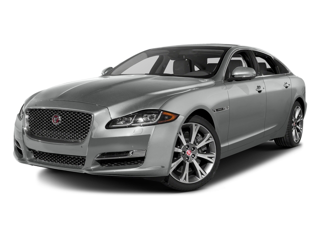 Rhodium Silver Metallic 2016 Jaguar XJ Pictures XJ Sedan 4D L Portfolio AWD V6 Sprchrd photos front view