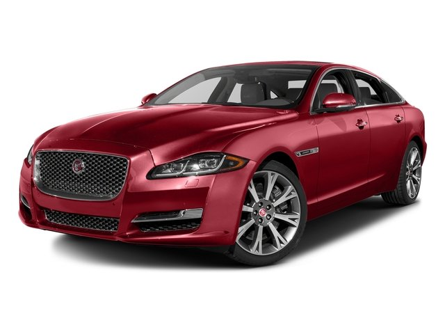 Italian Racing Red Metallic 2016 Jaguar XJ Pictures XJ Sedan 4D L Portfolio AWD V6 Sprchrd photos front view