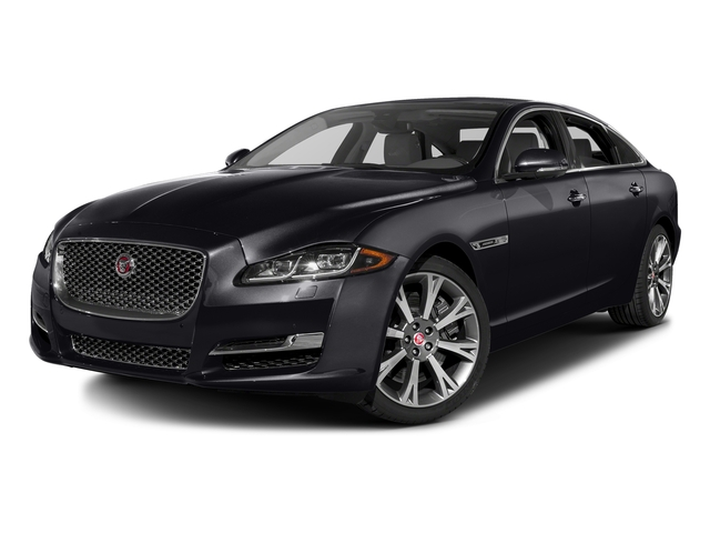 Black Berry 2016 Jaguar XJ Pictures XJ Sedan 4D L Portfolio AWD V6 Sprchrd photos front view