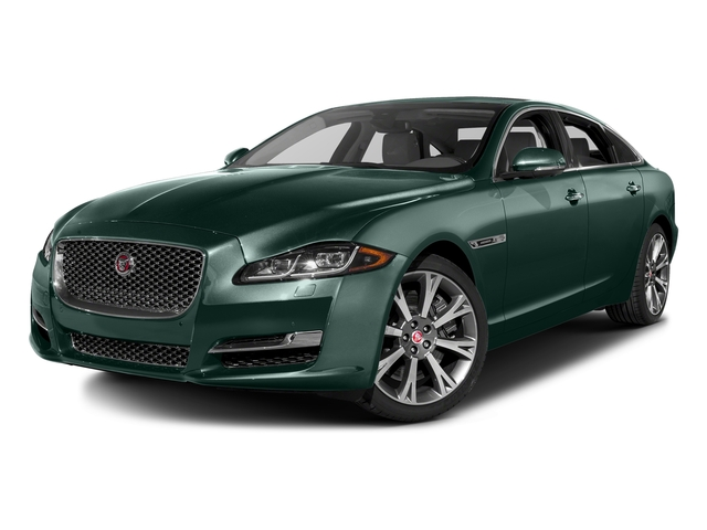 British Racing Green Metallic 2016 Jaguar XJ Pictures XJ Sedan 4D L Portfolio AWD V6 Sprchrd photos front view